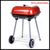 Hot Sale Wholesale Square Apple BBQ Charcoal Grill for Family and Outdoor Camping