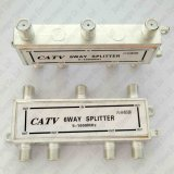 6 Way Digital Splitter Cable TV CATV 5-1000 MHz