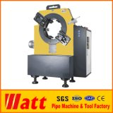 Stationary High Speed Pipe Cutting and Beveling Machine in Workshop