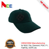 2017 Fashionable Pure Color Custom 3D Embroidered Wool Baseball Cap