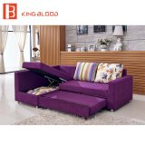 Hotel Use Corner Strong Iron Leg Multi-Purpose Sofa Cum Bed Set Furniture