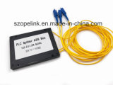 Wireless Network Fro Optical Fiber PLC 1X2 Plastic Box for CATV Systems