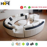 Leisure Sectional Leather Sofa Set for Home Furniture (HC1043)