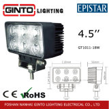 High Brightness Spotlight LED Work Light for SUV Car (GT1011-18W)