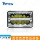 55W High Low Beam LED Car Headlight with DRL