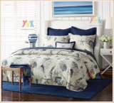 Customized Set Bedding of 3 Pieces with Pillows and Quilt Bedspread