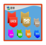 High Quality Custom Cheap Food Promotion Labels