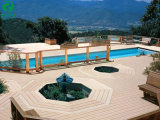 Cheap WPC Interlocking Wood Deck Tiles for Outdoor