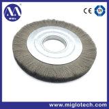 Customized Bristle Brush Steel Wire Brush Industrial Brush Wheel Brush for Debarring Polishing Tools (WB-300007)