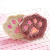 Fashion Cat Paw Plush Notebook