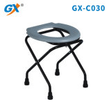 Cheap Foldable Steel Commode Chair Stool for Elderly