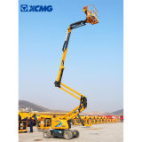 XCMG Manufacturer Aerial Work Platform Xga16 16m Mini Small Hydraulic Trailer Towable Articulated Boom Man Lift Machine Price for Sale