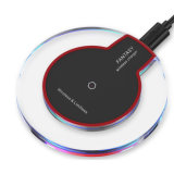 Cheap 2018 Crystal LED Qi Wireless Charger for Smart Mobile Phone