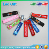 Small MOQ50PCS Embroidered Jet Keychains