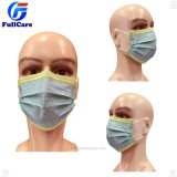 Medical Doctor Surgeon Surgical Hospital Protective Safety N95 Exam Mouth Dental Nonwoven 3ply Food Dust Paper Kids Disposable Face Mask with Earloop Tie on