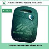 125kHz/13.56MHz Em4100/Tk4100 MIFARE S50 Plastic RFID Tag RFID Keyfob (Tag-01)