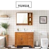 Best Selling Solid Wood Bathroom Furniture Vanity Cabinet (YH-VC5001)