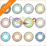 Wholesale 14.50mm Diameter Three Tone $1 Color Contact Lenses