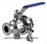 Sanitary Clamped Non-Retention Ball Valve.