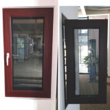 Aluminium Alloy Screen Window with Double Tempered Glass