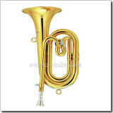 Yellow Brass Lacquer Finish Bb Key Spanish Horn (SPH7000)