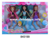 Promoation Plastic Toys for Girl Fairy Butterfly Solid Joint Winx Doll (845199)