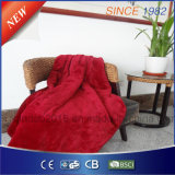 Qindao Luxury Flannel Electric Heated Throw Blanket with ETL Approval