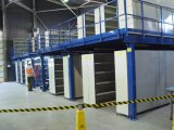 Mezzanine Floor Platform / Attic Type Multi-Tier Compounding Platform Rack System