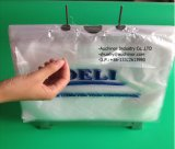 LDPE Seal Top Deli Saddle Pack Saddle Ziplock Bags for Meat