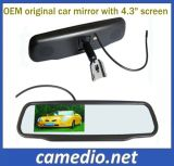 "4.3"" Original Car Rearview Mirror LCD with OEM Bracket for Different Cars"
