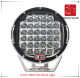 LED Car Light of 9 Inch 96W LED Work Light for SUV Car LED Offroad Light and LED Driving Light
