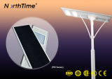 Wireless Outdoor Light LED Solar Street Lamp with Lithium Battery