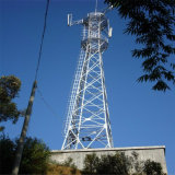 Telecommunications GSM 4-Legged Angle Steel Tower