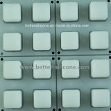Elastomer Translucent Rubber Backlight Keyboard