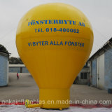 PVC Tarpaulin Strong Material Ground Balloon for Roof Top Advertising