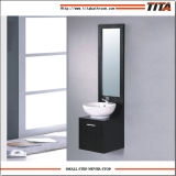 MDF Furniture Cheap Single Tall Bathroom Vanity Cabinet