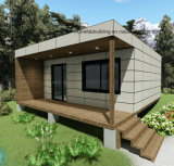 2 Unites 20FT Modular Prefabricated Wooden Cladding Holiday Container House Loddge