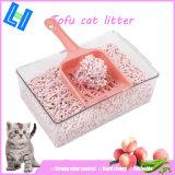 Peach Scent Tofu Cat Litter with Odor Control