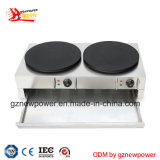Commercial Gas Double Head Crepe Maker with Factory Price