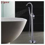 Fyeer Hot Sale Walk in Floor Mounted Freestanding Bathtub Faucet