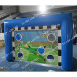 3.5*1.5*2m Inflatable Soccer Shoot Game, Giant Children Football Dart Game, One Time Inflatated Football Goal, PVC Inflatable Dart Game
