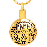 Gold Plated Cremation Jewelry Urn Pendant Necklace for Ash Wholsesale