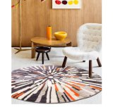 Nordic Style Circled New Design High Quality Carpet