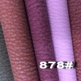 Reasonable Price Semi PU Leather for Home Textile (878#)