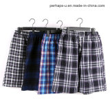 Quality and Cheap Cotton Plaid Men Casual Shorts Beach Pants