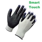 Smart Touch Ultra Thin Micro Foam Nitrile Coated Work Glove