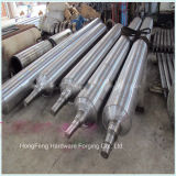 Forged Steel Solid Shaft Steel Roller with High Quality