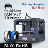 Ecubmaker Double Extruder, Support 4 Materials, Auto Level 3D Printer Fantasy Series