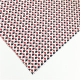 Red White Black Printed Manufacture Cotton Scotch Fabric for Clothes