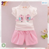 Summer Toddler Clothes Plain Girl Clothes Set